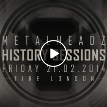 Grooverider & MC GQ | Metalheadz History Sessions | Fire 21-02-14