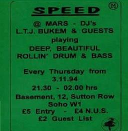 Fabio & MC Conrad | Live at Speed | 1995