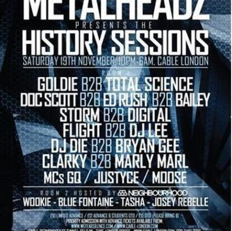 Flight b2b DJ Lee & MC GQ | Metalheadz History Sessions 2014