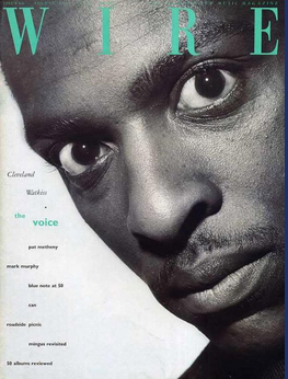 Cleveland Watkiss_Metalheadz_Blue Note